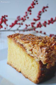 Tosca cake ~ Gâteau suédois aux amandes caramélisées. - Pourquoi je grossis