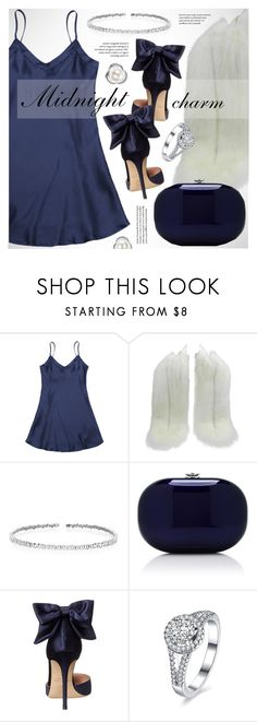 """""""Midnight charm"""" by vn1ta on Polyvore featuring Prada, Suzanne Kalan, Jeffrey Levinson and SJP"""
