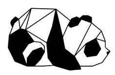 Origami Panda tellement mignon !!