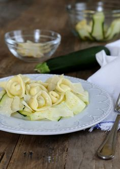 Authentic Italian recipes couldn't get any simpler with this recipe for Easy Homemade Tortellini. Stuffed with Ricotta cheese and fresh basil, each tortellini pasta round tastes like it was crafted by an Italian chef. Gluten Free Tortellini, Homemade Tortellini, Tortellini Pasta, Gluten Free Pasta, Gluten Free Dinner, Gluten Free Cooking, Gluten Free Homemade Pasta, Gf Recipes, Gluten Free Recipes
