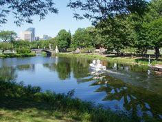 The Charles River in Boston
