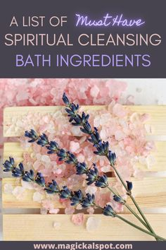 In this article, we'll learn more about Must-Have Spiritual Cleansing Bath Ingredients and how to use them to get desired results.