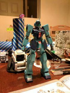 I'm almost done with my Sniper Gundam! #gundam #gunpla #plasticcrack #plasticmodel #robot #robots