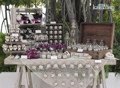www.kamalion.com.mx - Mesa de Dulces / Candy Bar / Postres / Beach / Playa / Wedding / Boda.