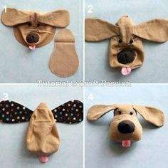 Sewing Stuffed Animals DIY Plush Dog - FREE Sewing Pattern and Step-by-Step Tutorial - Free sewing pattern to sew a Plush Dog with body Kids Patterns, Sewing Patterns Free, Free Sewing, Sewing Tutorials, Pattern Sewing, Pattern Dress, Sewing Toys, Baby Sewing, Sewing Crafts