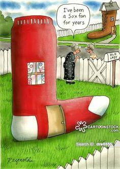 cute sock cartoon