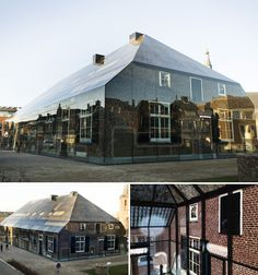 Glass Barn house in Schijndel, Holland