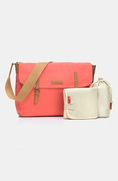 Storksak 'Ashley' Messenger Diaper Bag