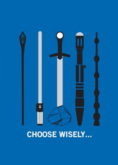 LOTR x Star Wars x Excalibur x Doctor Who x Harry Potter