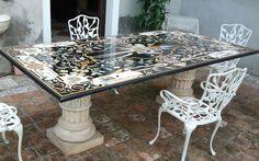 Tavoli Di Marmo Intarsiati : 22 fantastiche immagini in tavoli in marmo intarsiati su pinterest