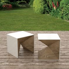Qbico, exterior table + chair