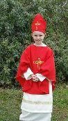 St. Valentine costume