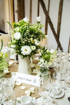 Rustic Wedding Flowers And We Go Together Like Table Name Ideas At Maidens Barn