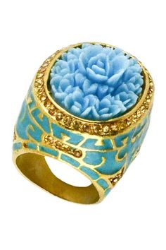 Atalya Ring on HauteLook Flower Rings, Spring Has Sprung, Cuff Bracelets, Jewelry Accessories, Jewels, My Love, Products, Jewelry Findings, Bijoux