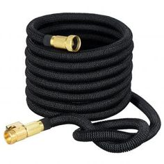 VicTsing Expanding Hose, Strongest Expandable Garden Hose with Double Latex Core, Solid Brass Connector and Extra Strength Fabric for Car Garden Hose Nozzle