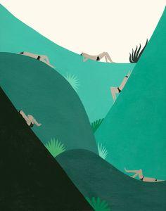 GREEN SPACE PRINT — Laura Berger
