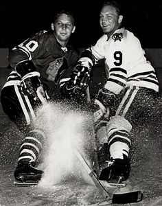 Dennis and Bobby Hull