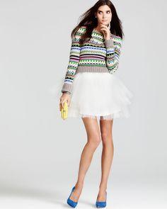 Juicy Couture Bowdoin Fair Isle Sweater #juicy