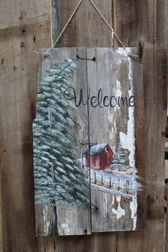 Welcome Winter barnboard signs, red barn patterns, barnwood patterns, winter patterns : Welcome Winter barnboard signs red barn patterns barnwood Christmas Wood Crafts, Pallet Christmas, Christmas Signs Wood, Primitive Christmas, Rustic Christmas, Christmas Art, Christmas Projects, Holiday Crafts, Christmas Decorations