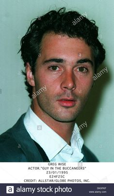 Greg Wise.actor.''guy In The Buccaneers''.23/01/1995.e24f25c Stock Photo…