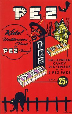 Take my hand and travel back again to another round of 94 vintage Halloween advertisements from season's past. Swing by Vintage Halloween Vintage Halloween Images, Retro Halloween, Halloween Night, Holidays Halloween, Spooky Halloween, Happy Halloween, Halloween Decorations, Halloween Pictures, Halloween Stuff