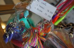 Don't lose your keys anymore! Bright & Colorful Tassles & Buddha Key Chains. Get your hands on a pair at Le Toko -x-