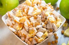 Apple Pie Chex Mix, Snack Mix, Apples and Caramel Christmas Trash Recipe, Christmas Snacks, Halloween Snacks, Snack Mix Recipes, Dessert Recipes, Cooking Recipes, Snack Mixes, Homemade Peanut Butter Cookies, Salty Snacks