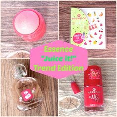 Essence Juice it! Trend Edition Collage