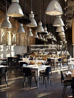 Descendre les lumières du chaie Restaurant industry