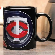 Minnesota Twins 11oz. Sublimated Coffee Mug - Black