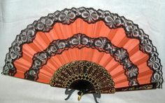 Large Spanish Fans for Flamenco Dance - Pericones