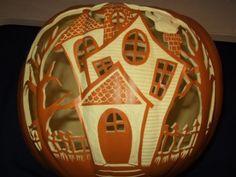 halloween pumpkin carvings