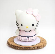 3D Sculpted Hello Kitty Cake - The Making of   Ella Yovero   La Cupella ...