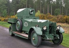 n 1920 the War Office needed new armoured cars and decided that the Rolls-Royce vehicles were the most reliable and resilient. The chassis was the 40/50hp Silver Ghost built by Rolls-Royce in Derby in 1920 and these were modified with stronger rear springs and with special disc wheels.