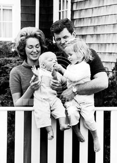 Teddy, Joan, Kara and Ted Jr. Kennedy