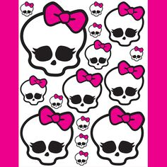 Monster high birth day party printable. Monster High  5 sizes   for by LuLuLoLa2022, $1.95