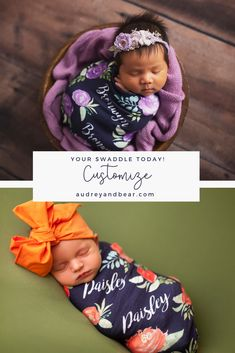Customize your swaddles | Shop the Collection