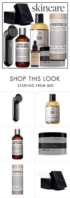 """#skincare"" by hellodollface ❤ liked on Polyvore featuring beauty, Clinique, The Art of Shaving, Prospector Co., Anthony, Truly Organic, SkinCare, London Beard Company and skincare"