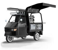 Piaggio Ape 50 - Mobile coffee cart... new business?