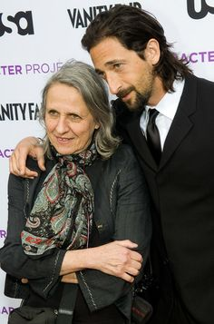 Photo of Adrien Brody & his  Mother  Sylvia Plachy
