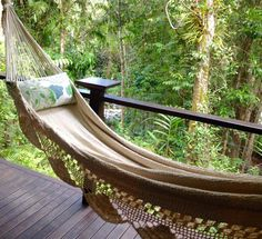 Hammock relaxation in the rainforest. Captured by @arohasharada  #christopherfarrcloth #hammock #relaxed #rainforest #roomwithaview #hammocklife #boutique #ecolodge #naptime by @silkyoakslodge