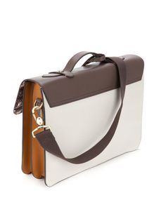 Leather satchel - Grey   Bags   Ted Baker UK