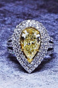 Engagement Rings : 24 Insanely Good Colored Engagement Rings  See more: www.weddingforwar #we