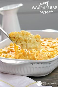 Creamy Macaroni and Cheese Casserole