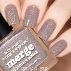 Swatch of Picture Polish Merge