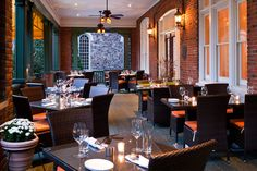 Enjoy a three-course meal at the Paramour at the Wayne Hotel on Thanksgiving Day. (Photo courtesy the Wayne Hotel)
