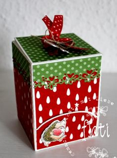 ♥ Flati s Stempelwelt ♥: Erdbeercandybox Freebie