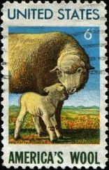 sheep stamp