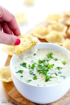 2-Ingredient Queso Dip that's ready in 5 minutes, and irresistibly good! Via @gimmesomeoven