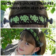 Frankenstein Headband - The kids are calling it Frankie's headband from Monster High.